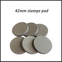 $enCountryForm.capitalKeyWord Australia - Free shipping 10pcs 42mm stamp pad for flash stamp machine