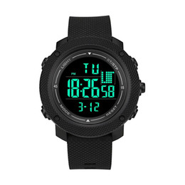 Chinese  Modern Men's Wirstwatch Outdoor Sports Silicone Strap Electronic Watch Business Watch Watchband For Gifts manufacturers