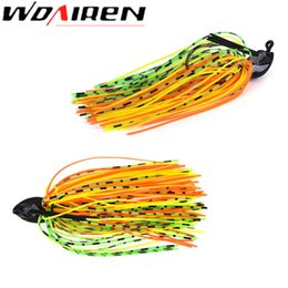 Swimming Jig Australia - 1pcs Mixed Colour Silicone Jig Head Skirt Beard Fishing Lures Fly Rubber Swim Bass Hook Bait Isca Artificial Para Pesca Leurres