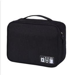 $enCountryForm.capitalKeyWord UK - 2018 New Style Fashion Electronic Accessories Cable USB Drive Organizer Bag Portable Travel Insert Case