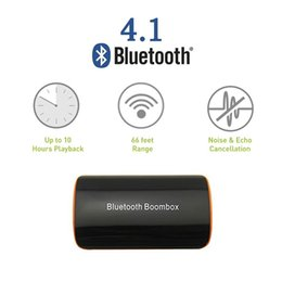 $enCountryForm.capitalKeyWord Australia - Wireless Stereo Bluetooth 4.1 Audio Receiver Audio Music Box with Mic 3.5mm for Speaker Car AUX Home Audio System Devices