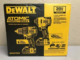 DEWALT DCK278C2 ATOMIC 20V Kit Combo 2 Brushless MAX 2 (Nova) em Promoção