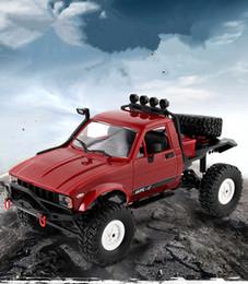Mini RC Racing Car Drift Speed Car 15 KM / h Camión todoterreno eléctrico 2.4G 4WD Juguetes para vehículos Cuatro ruedas entrelazadas escalada Juetes niños Gadget