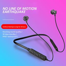 Wireless bluetooth neckband headphones sony ericsson online shopping - X7 plus Bluetooth Earphone Built in Mic Wireless Lightweight Neckband Sport Headphone earbuds stereo earphone free DHL