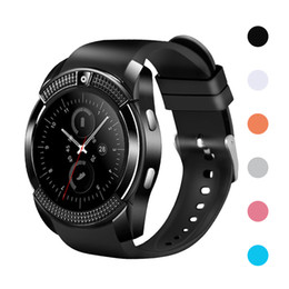 $enCountryForm.capitalKeyWord Australia - V8 Smartwatch Bluetooth Smart Wrist Watch SIM TF Card Slot GPS Smart Watches For iOS iPhone Android Huawei Samsung