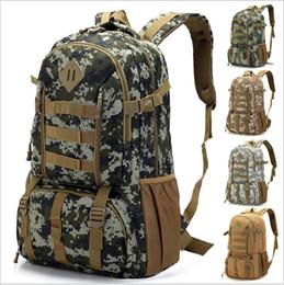 50L Trekking Rucksack Backpack Mountaineering Hiking Nylon Motion Knapsack Travel High Capacity Hiking Camping Bag Climbing bag Hot Sale on Sale