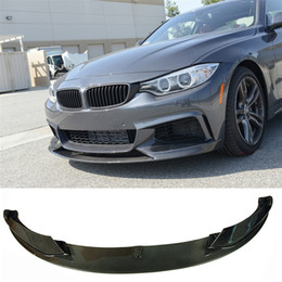 $enCountryForm.capitalKeyWord NZ - P Style 3K Carbon Fiber Front Bumper Lip Spoiler F32 F33 F36 MTECH Fit For BMW