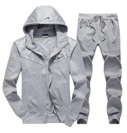 summer sportswear suit Australia - ΝΚ New Summer Mens tracksuit short sleeve and shorts casual hoodies sports suit sports set men's Round neck Sportswear