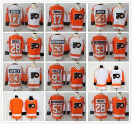$enCountryForm.capitalKeyWord Australia - Philadelphia Flyers Jersey 17 Wayne Simmonds 28 Claude Giroux 53 Shayne Gostisbehere 93 Jakub Voracek Blank No name Jerseys Ice Hockey Winte