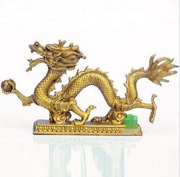 Abertura de cobre puro Phoenix Feng Shui ornamentos de cobre Phoenix auspicioso presentes de casamento enfeites de decoração para casa venda por atacado
