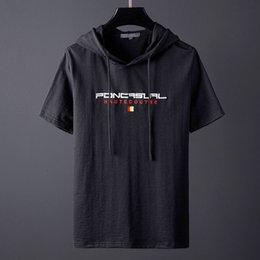 $enCountryForm.capitalKeyWord Australia - Summer Marcelo White Cap Short Sleeve T-shirt Men's Chao Brand Loose Hat Half Sleeve Guard Fashion Korean Bf T-shirt Burlon Shirt B12