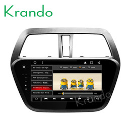"""Car Audio Stereo Touch Screen Australia - Krando Android 8.1 9"""" Full touch Big screen car dvd Multmedia player for Suzuki S-Cross 2013+ audio player navigation system wifi"""
