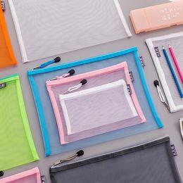 Reasonable Creative A4 Fantasy Star Storage Bag Bronzing Laser Transparent Pocket Pp File Bag Kawaii School Stationery High Quality Materials File Folder Filing Products