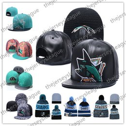 sports shoes 42bdb 4b3ad Knit sharK hat online shopping - San Jose Sharks Ice Hockey Knit Beanies  Embroidery Adjustable Hat