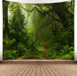 China 3D Creative Pattern Tapestry Ployester Wall Hanging Tapestry for Wall Decoration Fabric Home Background Cloth Yoga Mats H369 supplier fabric cloth background suppliers