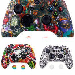 analog thumb stick NZ - 0Kh7b Controller Silicone Analog One Thumbstick Thumb Stick Grip Cap Case for PS3 PS4 Xbox 360 Xbox Joystick Non-slip Protect CoverSHIPPING