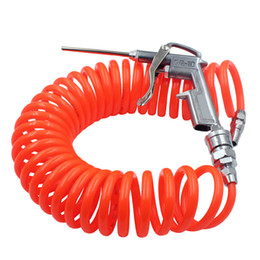 """Discount pneumatic connectors - High Pressure Cleaning Spray Gun Air Blow Dust With 1 4"""" Pneumatic Air Hose Connector Tube Pipe Clean Car Duster Cl"""