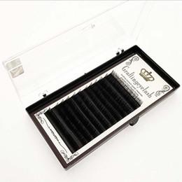 $enCountryForm.capitalKeyWord UK - 8-14mm Softer than Mink Eyelash Extension Individual Silk Eyelashes Professional Natural 3D Volume J B C D Long Black