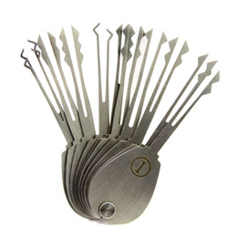 $enCountryForm.capitalKeyWord UK - 20psc Foldable Car Lock Opener Double Sided Lock Pick Set Locksmith Tools
