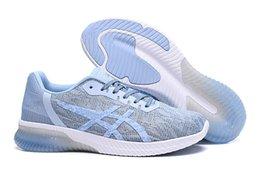 Snow Gel Australia - GEL KENUN man light running shoes dark green dark gray black and white, light gray dark blue blue gray yellow Mesh breathable men sneakers