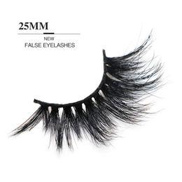 $enCountryForm.capitalKeyWord Australia - Hot Sale 5D 25mm Lashes 17 Styles Long Dramatic 25mm Long Thick Eyelashes Handmade False Eyelash Eye Makeup