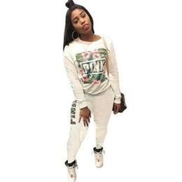 $enCountryForm.capitalKeyWord Australia - Print Full Sleeve Winter Tracksuit Women Set Overalls Sweatshirt+pant Lady Fashion Sexy Two Pieces Suits Casual P9017