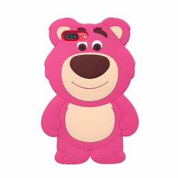 Cute 3d Animal Iphone Cases Australia - 3D Bear Silicone Case For Iphone XS MAX XR 10 X 10 8 7 6 6S Plus Fashio Luxury Teddy Animal Cartoon Lovely Cute Cutely Cell Phone Cover