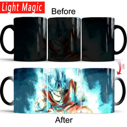 $enCountryForm.capitalKeyWord Australia - Dragon Ball Z Super Saiyan Goku Blue Hair Mug Color Changing Mugs Coffee Tea Cup Best Gift For Your Boy Friend Q190430