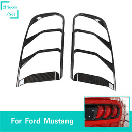 mustang accessories Australia - Tail Light Cover Tail Lamp Cover ABS Decoration Cover For Ford Mustang 2018+ Car High Quality Exterior Accessories