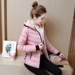 $enCountryForm.capitalKeyWord Australia - 2018 new ladies fashion coat winter Clothing women outerwear short wadded jacket female padded parka women's overcoat L-3XL