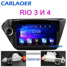 Gps Kia Rio NZ - Car Radio For KIA RIO 3 4 2010 to 2016 2017 Android Multimedia Video Player Navigation GPS Bluetooth autoradio stereo 2 din