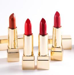 $enCountryForm.capitalKeyWord Australia - Brand Frost matte lip stick HOT Lip Gloss good quality Lowest NEW Makeup MATTE LIPSTICK SIX different colors CZ91