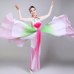 $enCountryForm.capitalKeyWord Australia - 2019 new stage costume in ancient china classical female dance clothes adult costume stage clothes ink picture chinese style