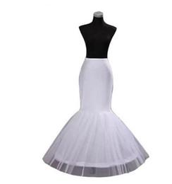 Wedding Accessories Petticoats Jupon Mariage 2019 New Elastic Waist White Tulle 4hoops Petticoats Wholesale Enaguas Para El Vestido De Boda Cheap Wide Selection;