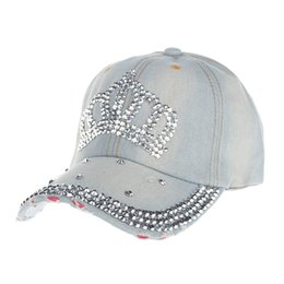 3f8f4769 High Quality Hip-Hop Baseball Cap Full Diamond Crown Flat Snapback Hat  Extravagant Diamond studded Fashion cowboy Caps #3