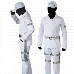 Cells at Work Neutrophil Costume White Blood Cell Cosplay Outfits with Hat