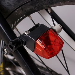 warning flashlight UK - Bicycle Warning Taillight Magnetic Power Generate Safety Flashlight Induction Tail Light Waterproof Rear Lights Bicycle K1 Bike Lights
