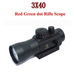 $enCountryForm.capitalKeyWord Australia - Airsoft Guns Riflescope 3X Magnification Tactical 3X40 Holographic Red Green Dot Sight Scope Fit Rail Mount 11&20mm