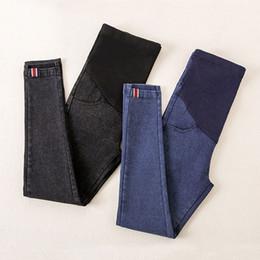 Jeans trousers for pregnant women online shopping - Denim Pants For Pregnant Women Clothes Nursing Pregnancy Leggings Trousers Gravidas Jeans Maternity Clothing Q190530