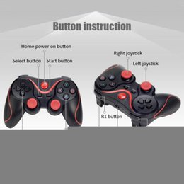 wireless pc controller games Australia - NEW Bluetooth Wireless Gamepad S600 STB S3VR Game Controller Joystick For Android IOS Mobile Phones PC Turbo Handle #N