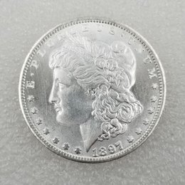 Free Coin Pricing Australia - US Coins morgan dollar 1897-s Promotion Cheap Factory Price nice home Accessories Silver Coins 10 pcs Free shipping