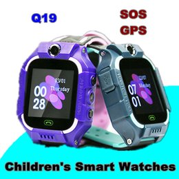 $enCountryForm.capitalKeyWord Australia - Q19 1.44 Inch Smartwatch for Kids Touch Screen Camera Children's Watches IP67 SOS GPS Positioning Call Location Clock