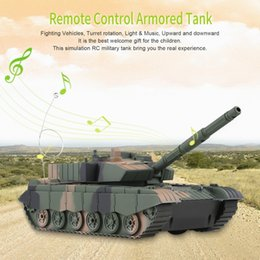 helicopter military UK - 1:20 4CH Power Tank On The Radio Remote Control Military Vehicle Armored Battle Tanks Turret Rotation Light & Music RC Model
