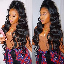 22 inch wig online shopping - 200 Lace Frontal Wig for Black Women Pre Plucked lace front wig x6 Glueless Human Hair Wigs Inch body wave