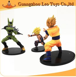 Banpresto Figures NZ - 100% Banpresto Dramatic Showcase Dragon Ball Z Kai Goku Gohan and Cell PVC Action Figure Model 12cm-17cm approx