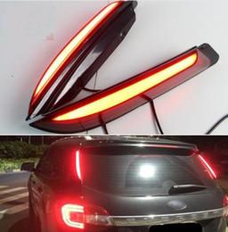 Auto Escape Australia - 2PCS For Ford Everest 2016 2017 2018 Car LED Tail Light Rear Bumper Light LED Brake Light Auto Bulb Decoration Lamp