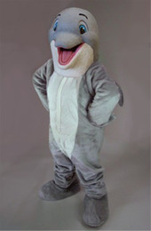 $enCountryForm.capitalKeyWord NZ - Aquarium Sea Animal Mascot Happy Dolphin Mascot Costume Adult Cartoon Character Outfit Suit Fancy Dress Party Carnival SW830