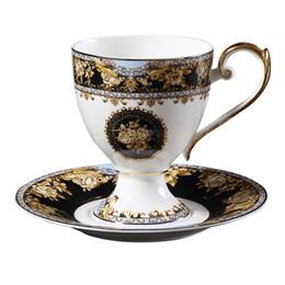 a663af18211 British ceramic flower coffee cup dish Set elegant afternoon tea cup set  cup Saucer