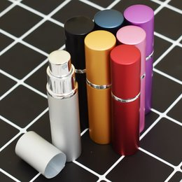 $enCountryForm.capitalKeyWord Australia - Mini Portable For Travel Aluminum Refillable Perfume Bottle With Spray&Empty Cosmetic Containers With Atomizer
