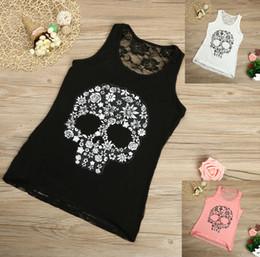 $enCountryForm.capitalKeyWord Australia - Summer Ladies Shirt Vest T-shirt 2019 New Girl O-neck Lace Sexy Gulu Printed Lace Shirt Ladies Vest Streetwear Camiseta Tirantes